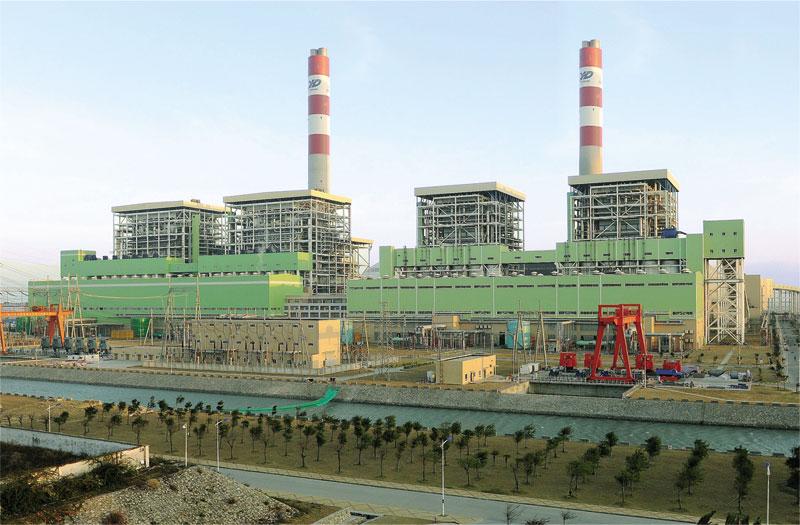 广东惠来(靖海)发电厂(2x600mw)